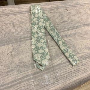 The Tie Bar Grey Bhldn Floral Gala Tie